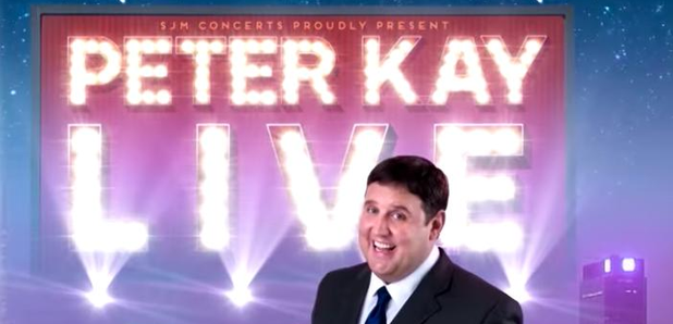 Peter Kay's 2018 & 2019 Live Tour: Ticket Refund Info - Radio X