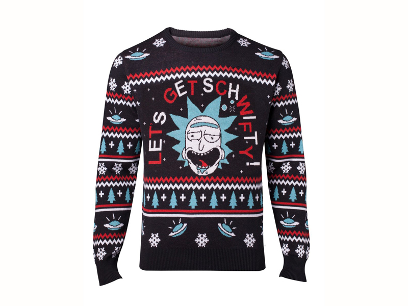 Rick And Morty Christmas Jumper