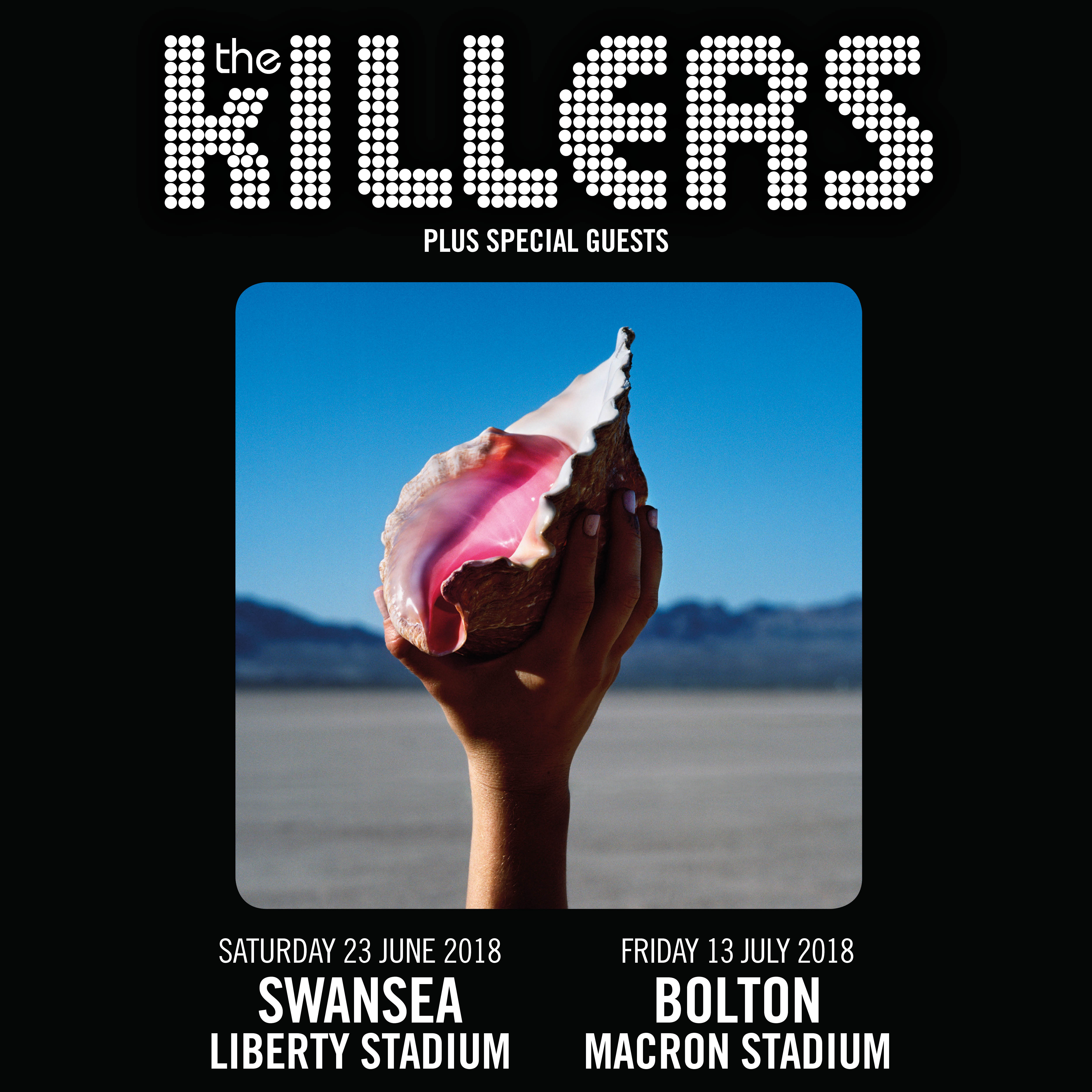 Killers 2018 Stadium Gigs