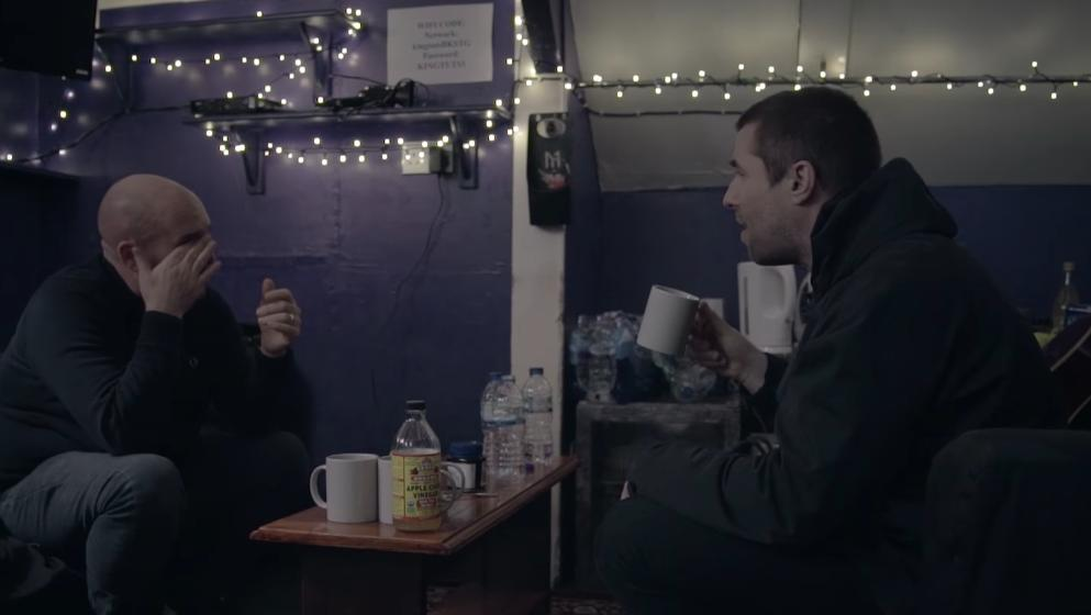 Liam Gallagher talks to Shane Meadows