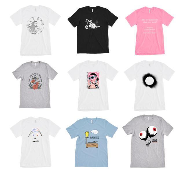 Band T-Shirts designed for Trekstock's Yellow Bird