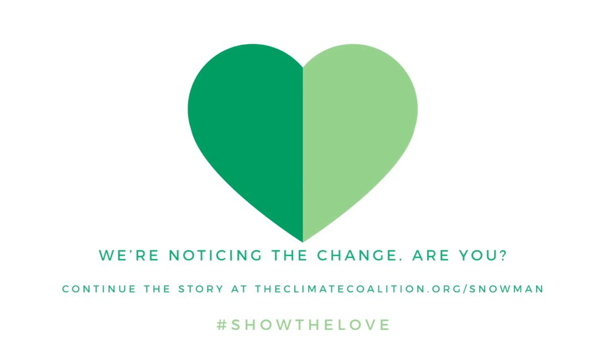 The Climate Coalition still for the Show The Love