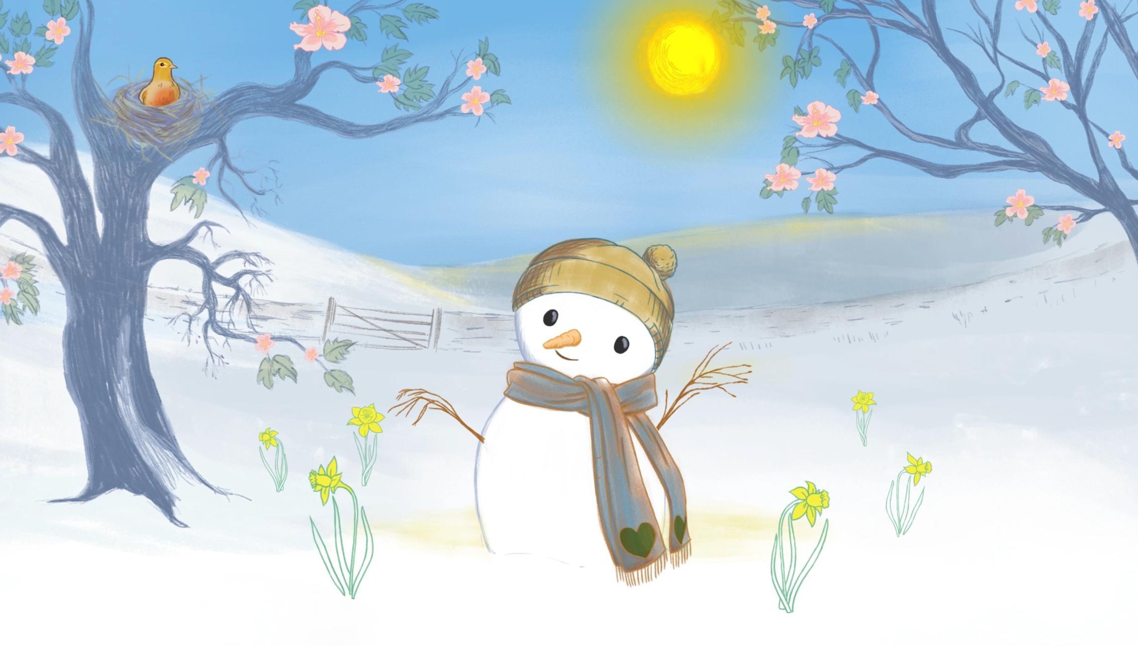 The Very Hot Snowman Still