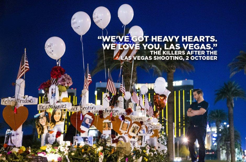 Las Vegas attack memorial