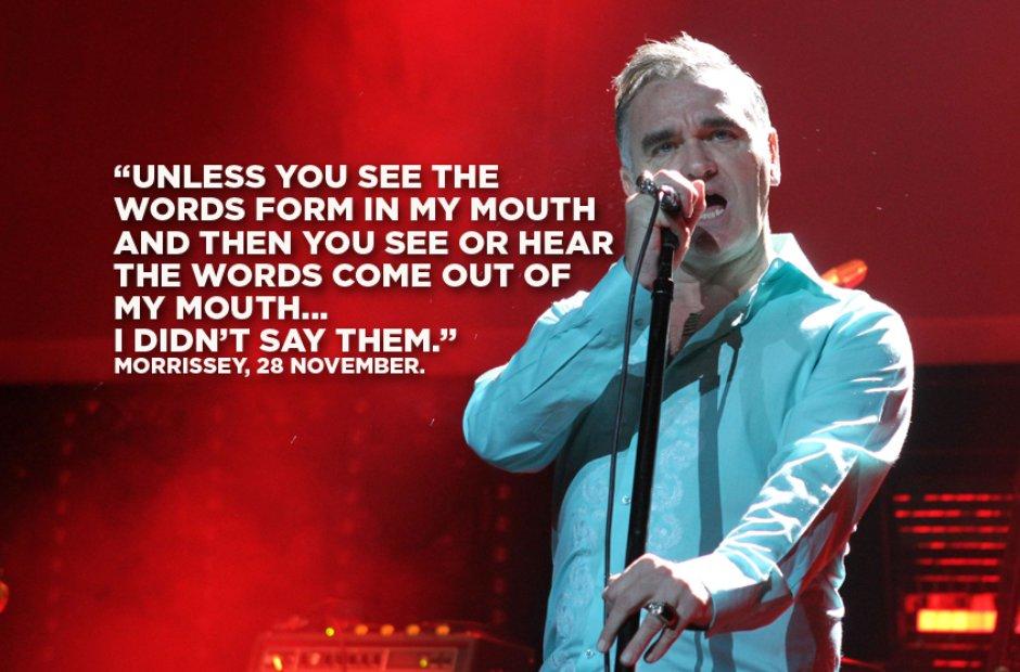 Morrissey, 28 November