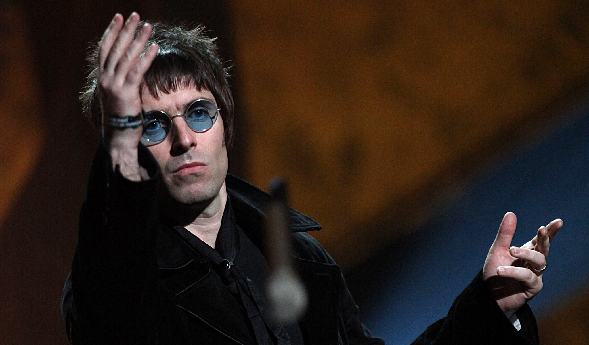 Liam Gallagher BRIT Awards 2010