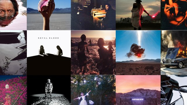 the most beautiful album covers of 2017 radio x