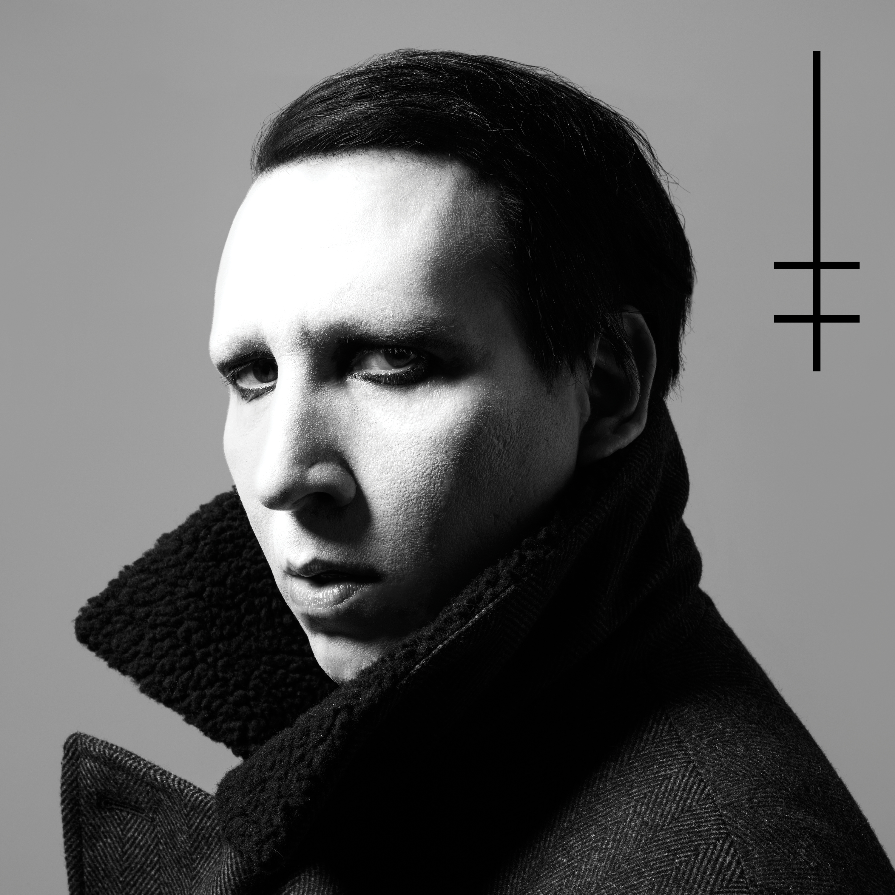 Marilyn Manson Heaven Upside Down cover