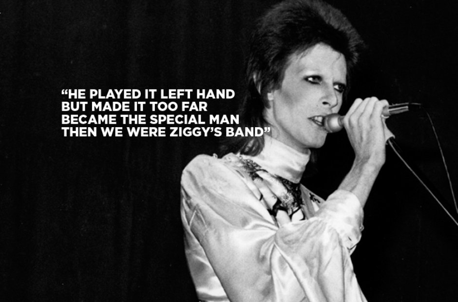 Quicksand, Life On Mars and The Best David Bowie Lyrics Ever - Radio X