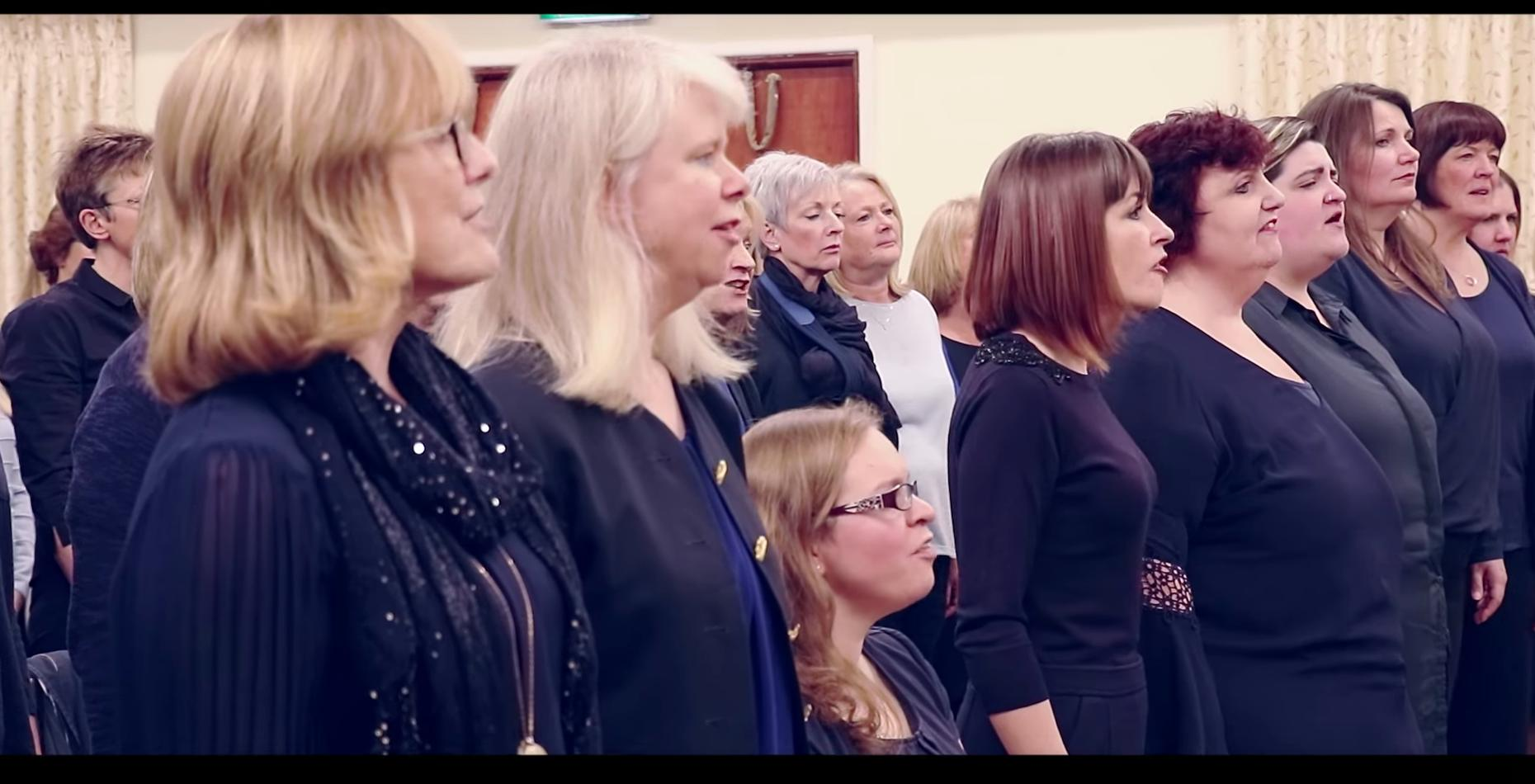 Sweet Charity Choir sing Foo Fighters