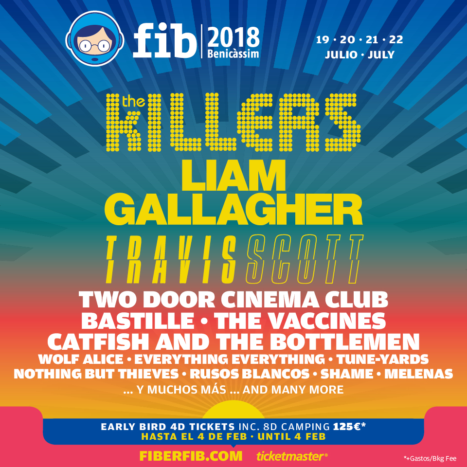 Liam Gallagher Benicassim Festival line-up