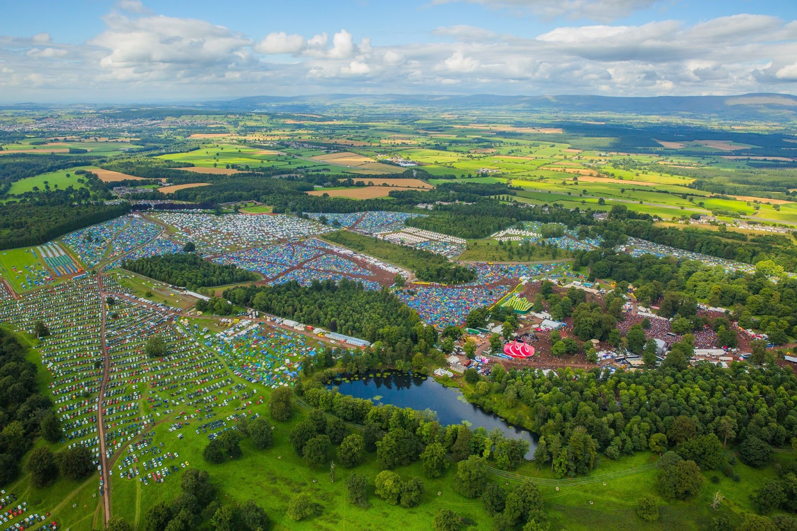 Kendal Calling Festival site
