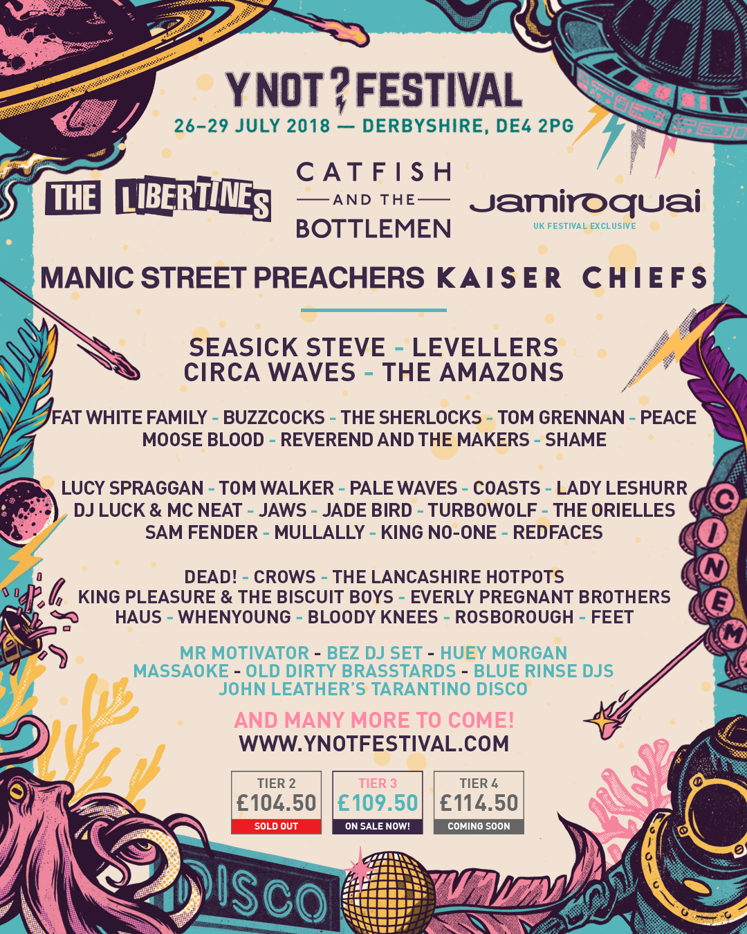 Y Not Festival 2018
