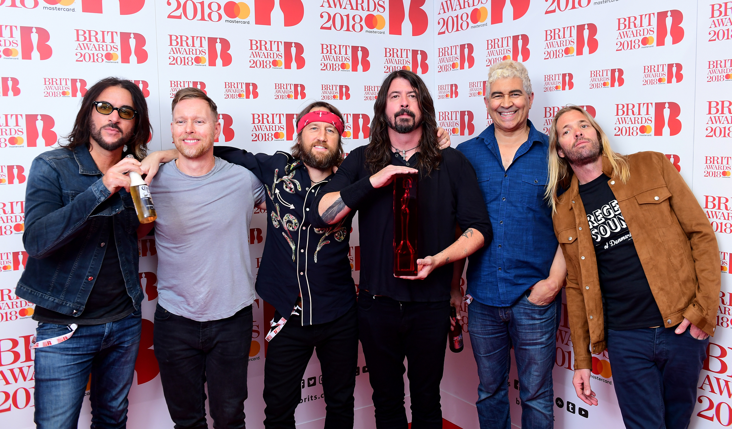 Foo Fighters BRIT Awards 2018