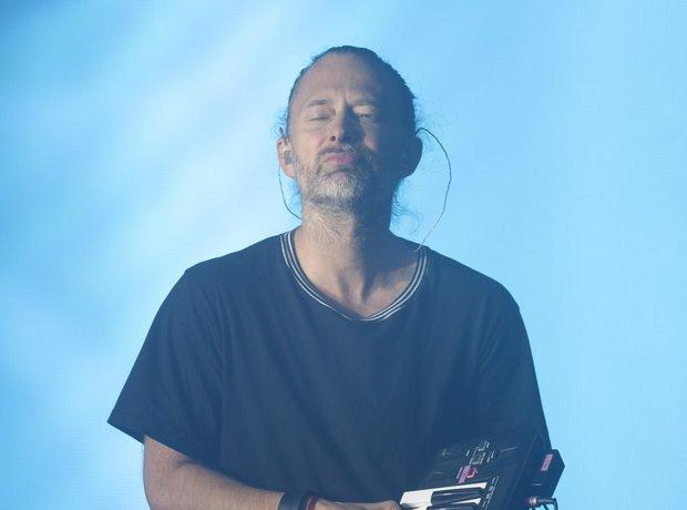 Thom Yorke Glastonbury Festival 2017
