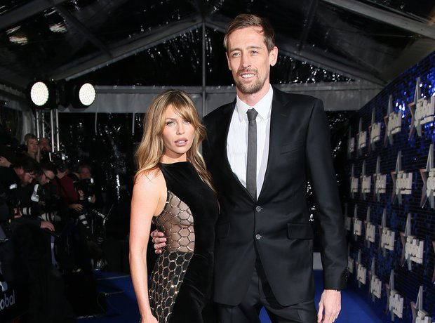 Abbey Clancy and Peter Crouch Global Awards 2018 b