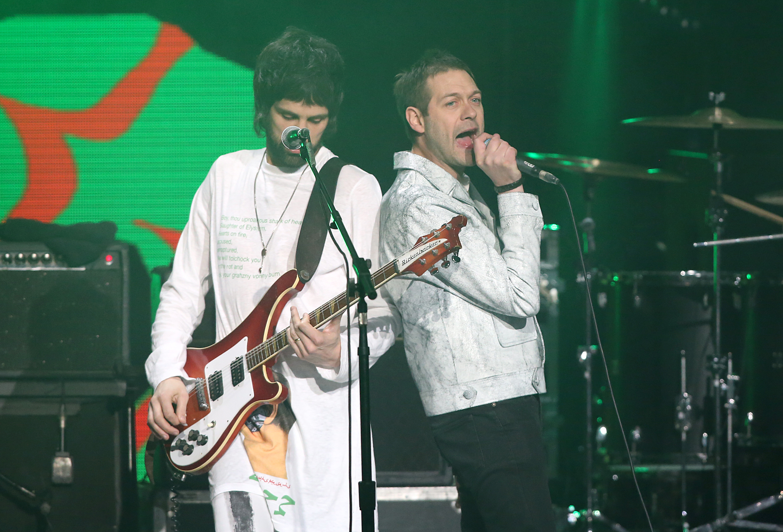 Kasabian live at the Global Awards