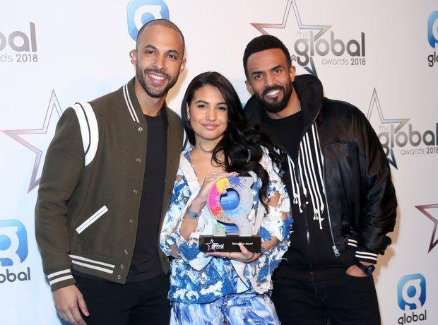 Marvin Humes, Mabel And Craig David Global Awards