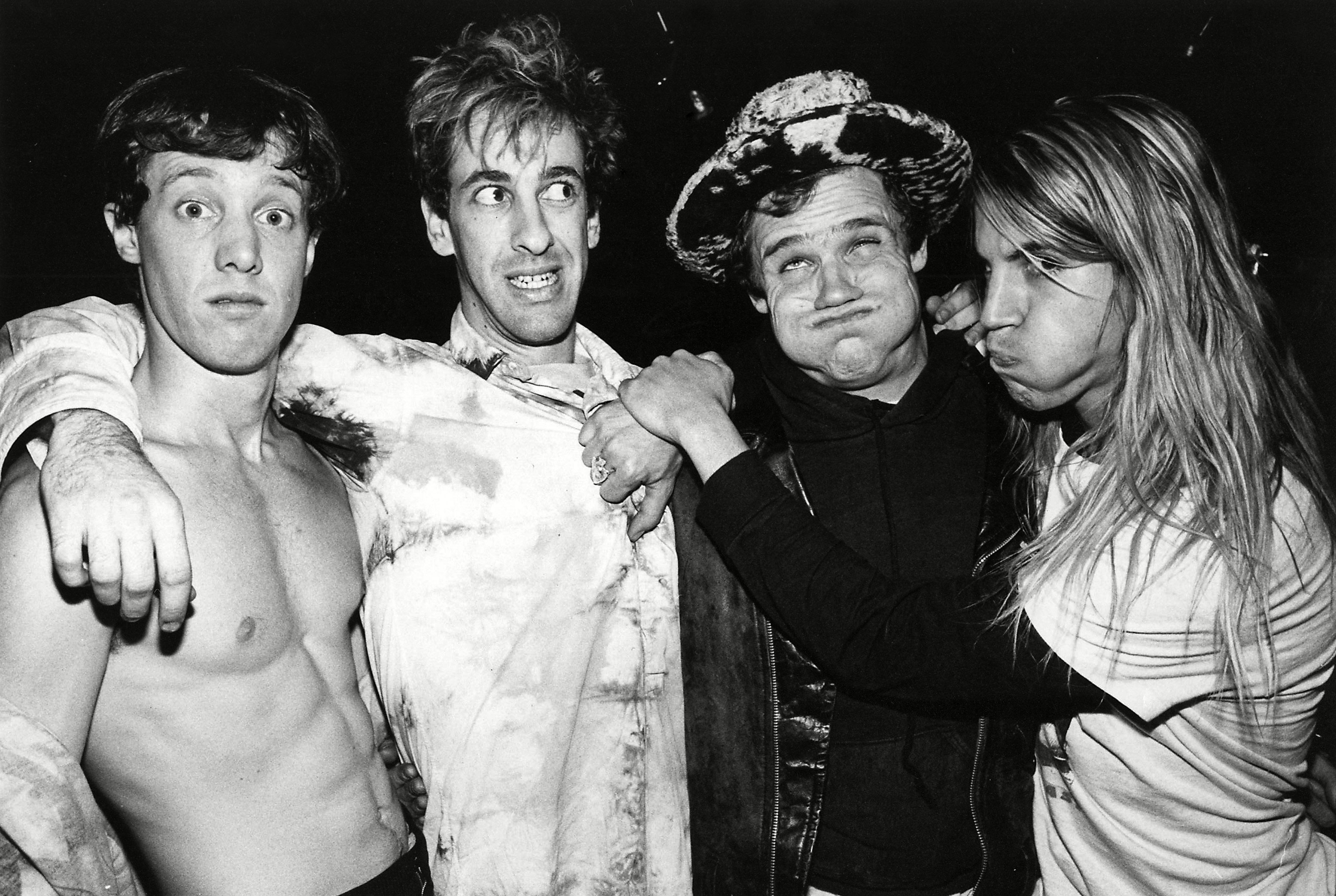 Red hot Chili Peppers in 1986