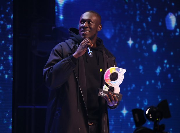 Stormzy At The Global Awards