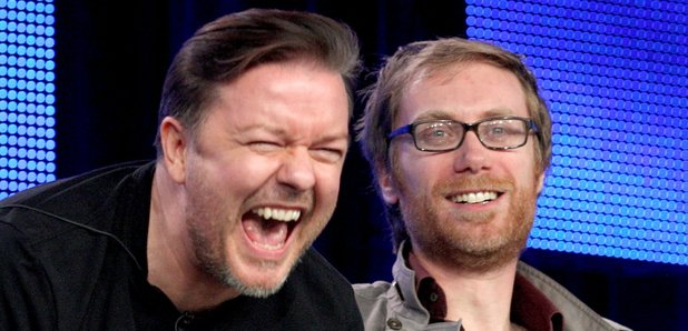 Did ricky gervais fall out with karl pilkington and stephen merchant ricky gervais and stephen merchant m4hsunfo