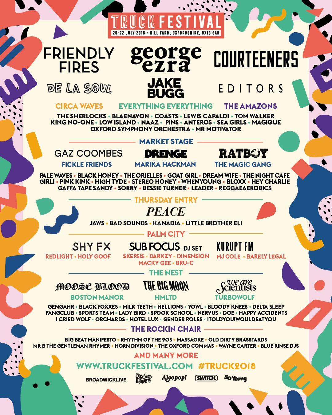 Truck Festival poster