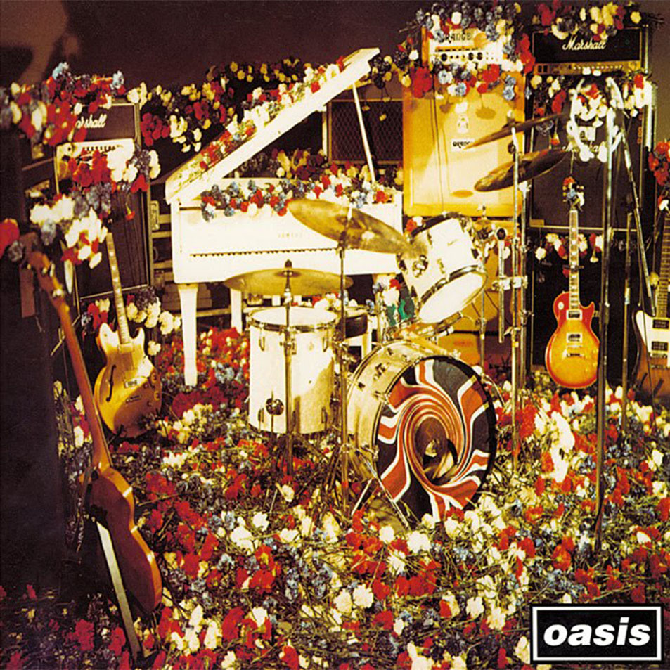 Oasis Don't Look Back In Anger artwork