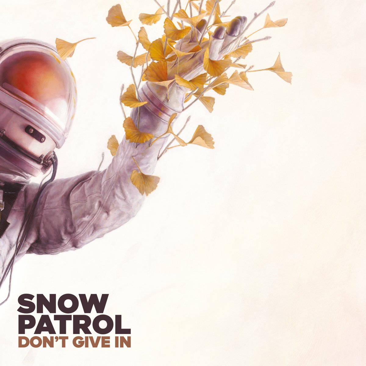 Snow Patrol Don't Give In single artwork