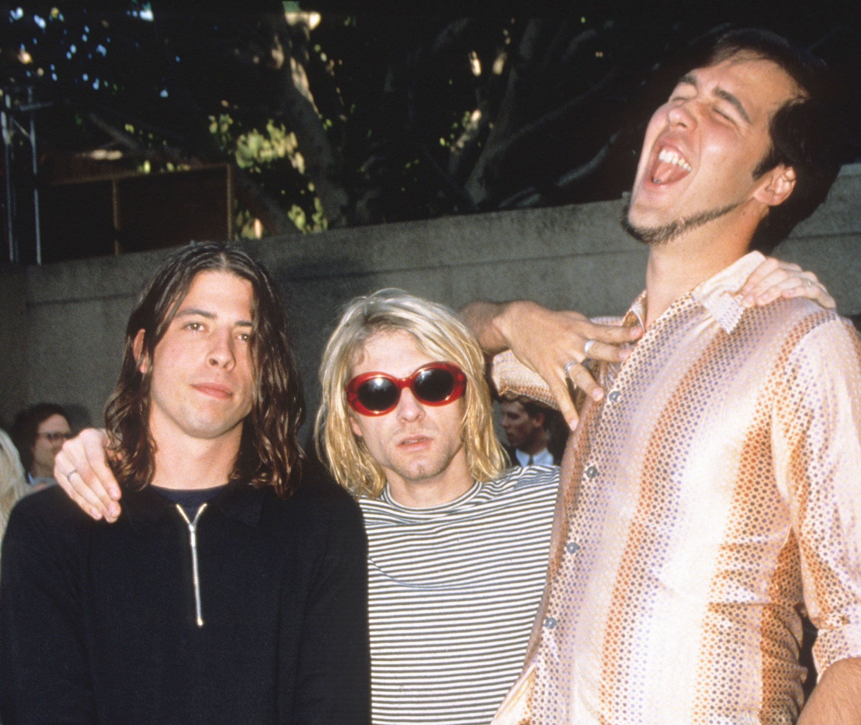 Nirvana at the 1993 MTV Video Music Awards
