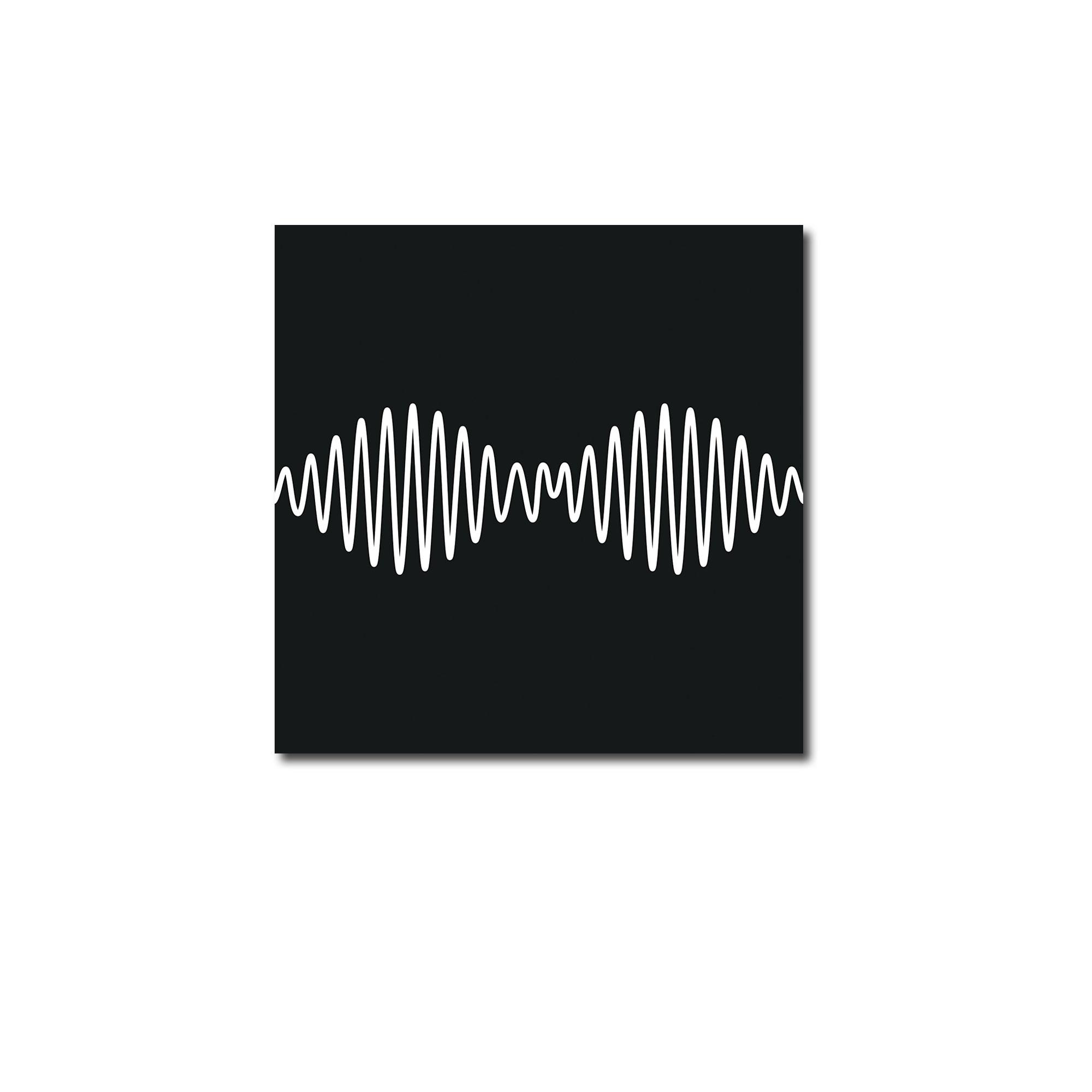 Arctic Monkeys AM artwork on white background