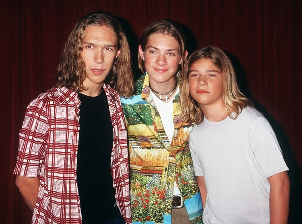 Hanson - Isaac, Taylor and Zac Hanson
