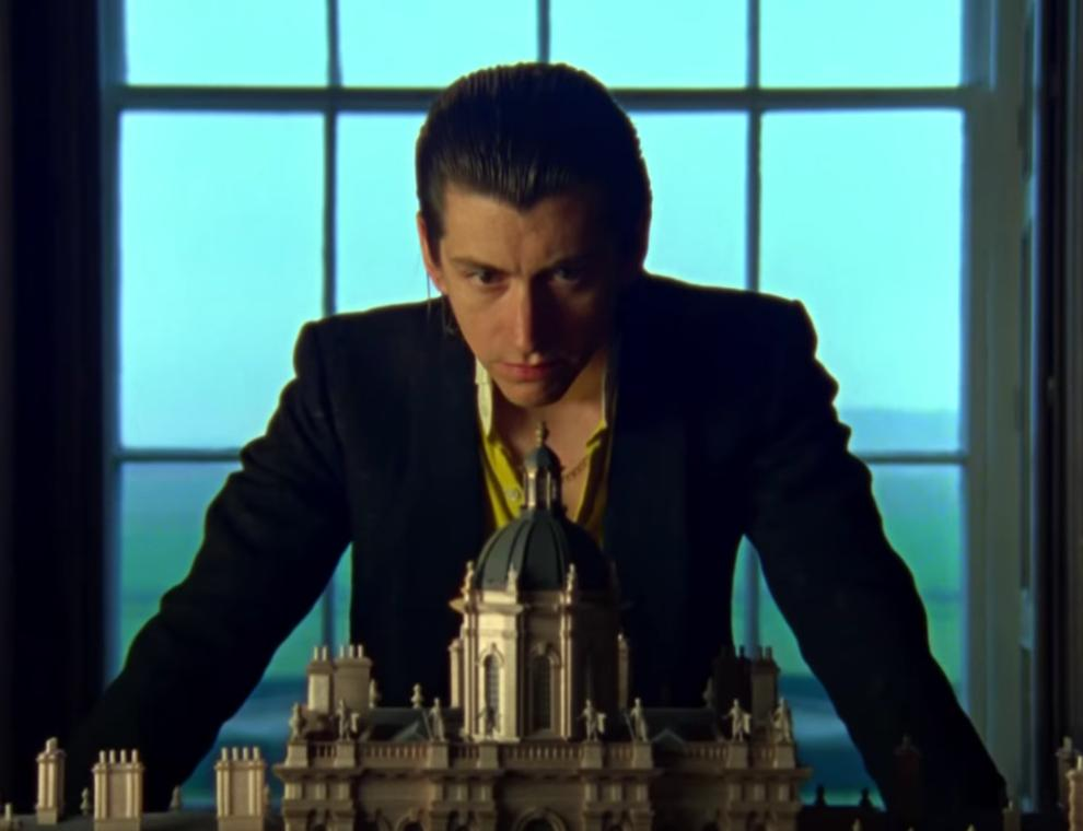 Alex Turner in Arctic Monkeys' Four Out of Five vi