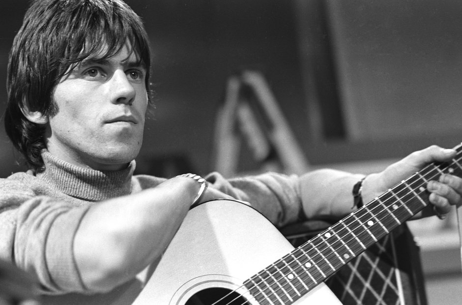 Keith Richards of the Rolling Stones THEN - Rock Stars ...