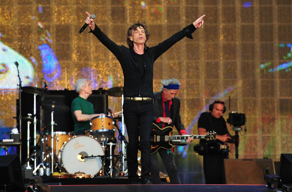 The Rolling Stones at Hyde Park 2013