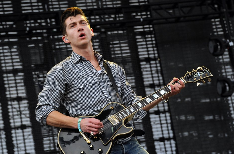 Arctic Monkeys live in 2012