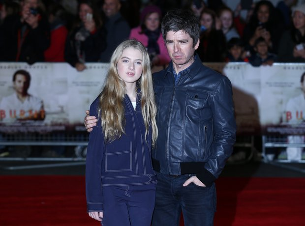 Noel and Anais Gallagher 2015