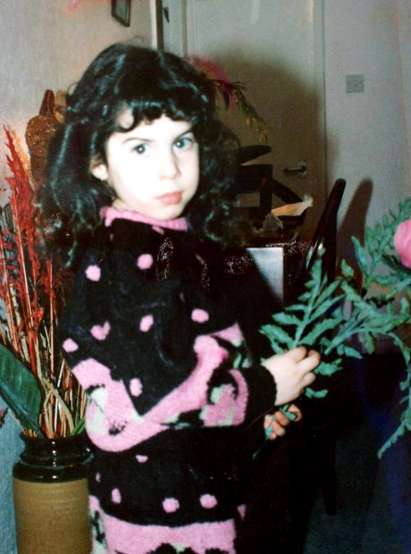 Amy Winehouse aged 5