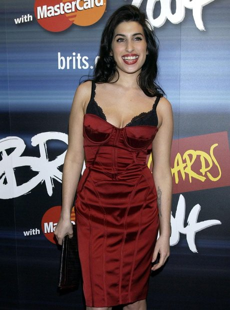 Amy Winehouse, BRITs launch, 2004