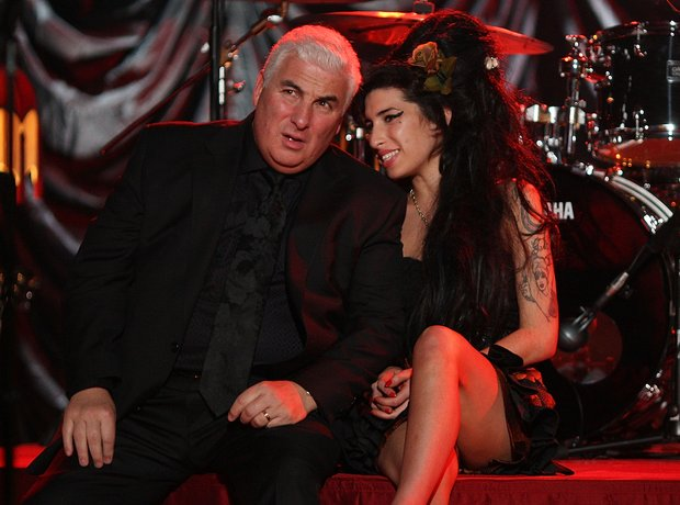 Mitch and Amy Winehouse, 2008