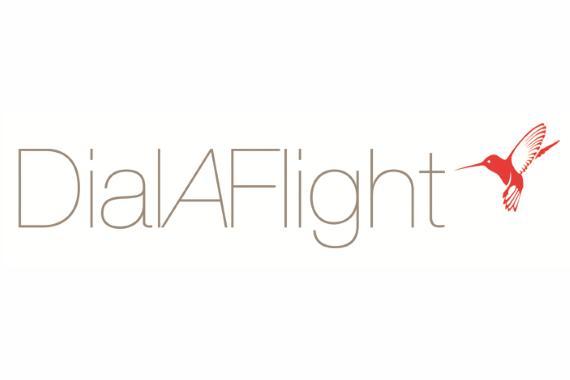 Dial A Flight logo