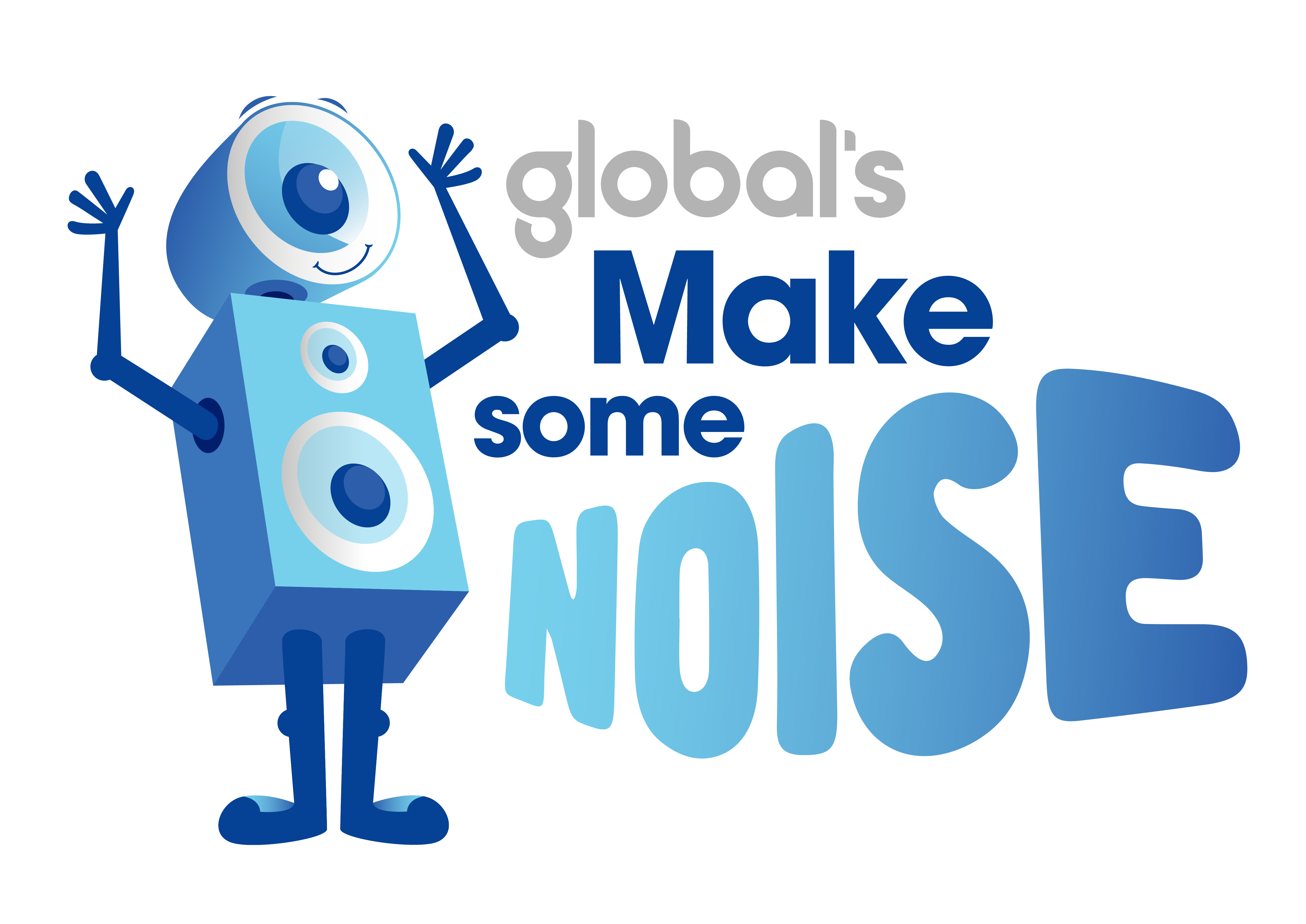 Global's Make Some Noise Logo 2018