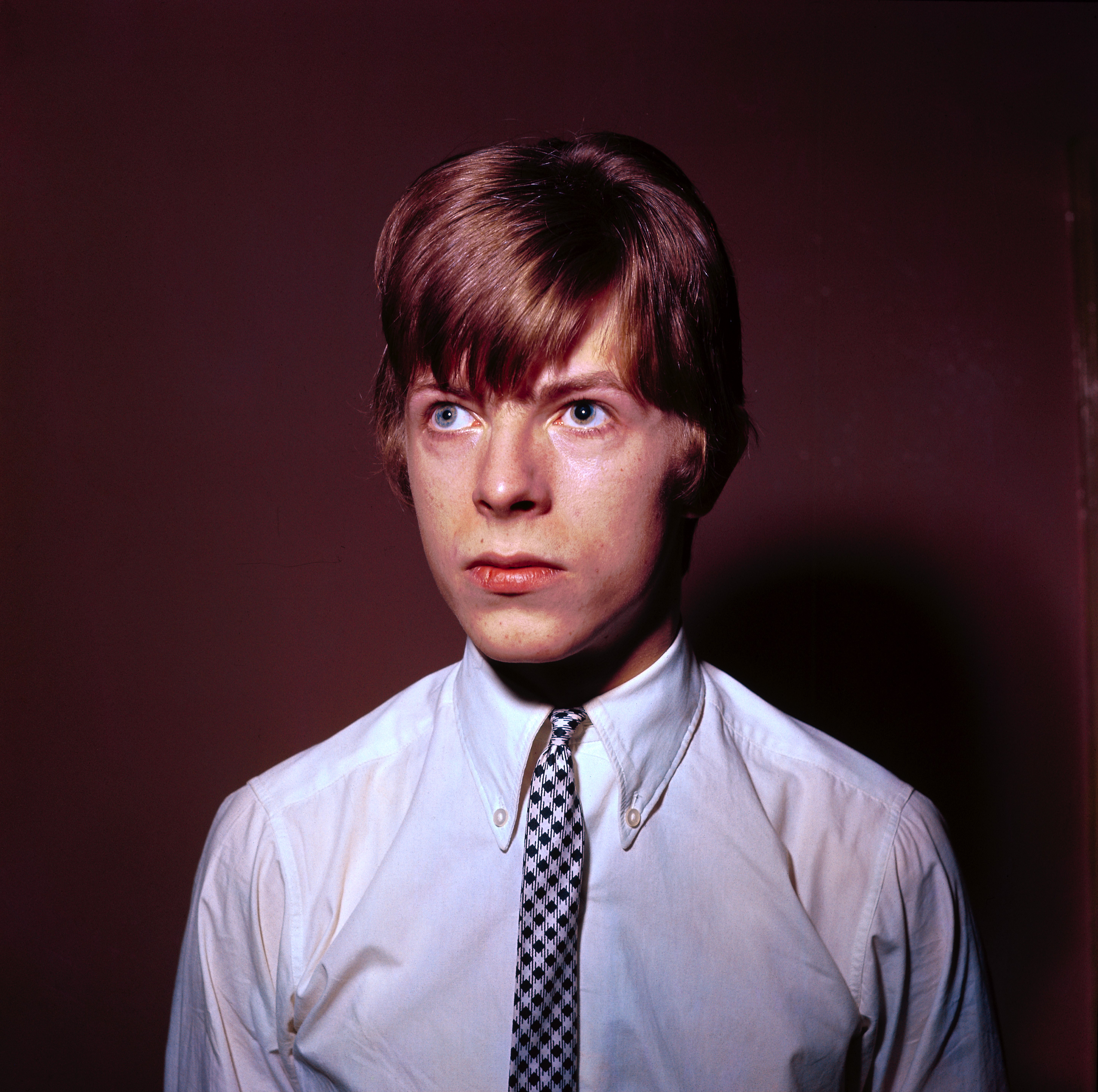 David Bowie portrait dated 1965