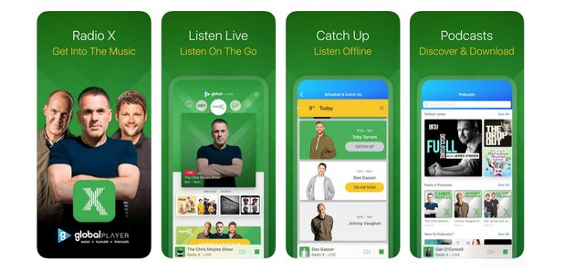 Download the brand new Radio X app for extra features! - Radio X