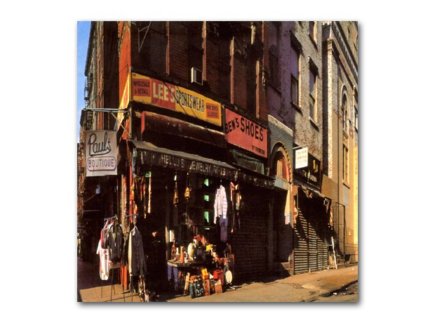 Beastie Boys - Paul's Boutique album cover