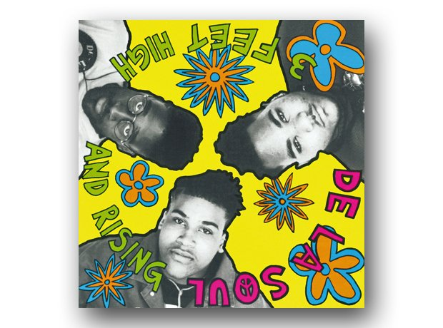 De La Soul - Three Feet High And Rising album cove