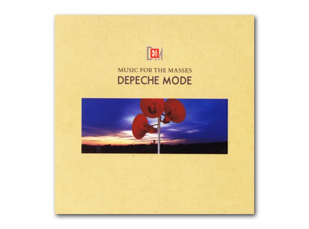 Depeche Mode - Music For The Masses album cover