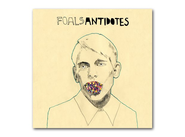 Foals - Antidotes album cover