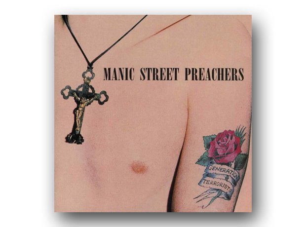 Manic Street Preachers - Generation Terrorists album cover