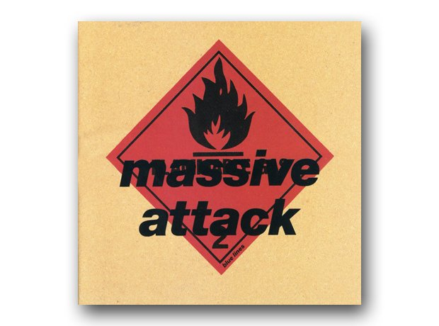 Massive Attack - Blue Lines album cover