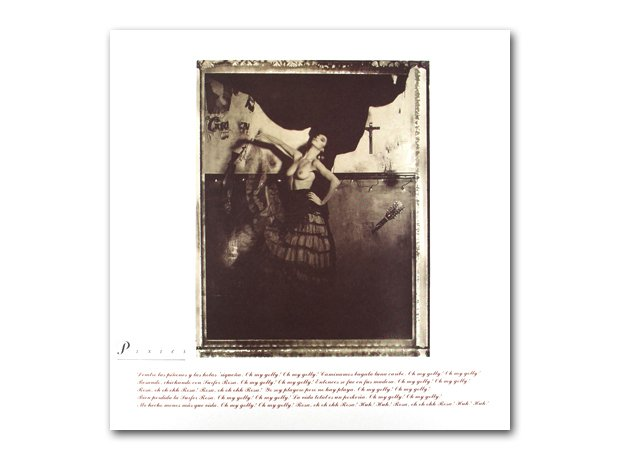 Pixies - Surfer Rosa album cover